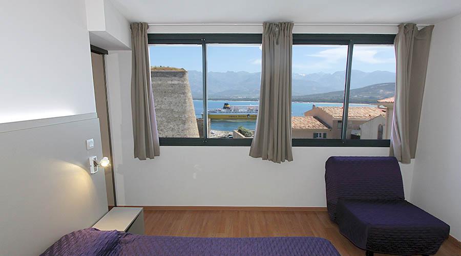 France - Corse - Calvi - Hôtel le Belvédère 2*